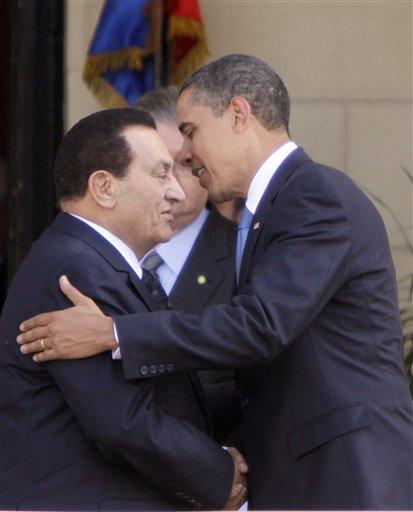 CORRECTION Mideast Egypt Obama