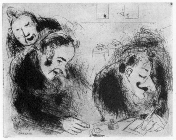 Chagall - La bustarella